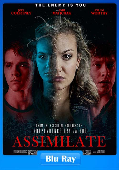 Assimilate 2019 720p BRRip Hindi Dual Audio x264 | 480p 300MB | 100MB HEVC