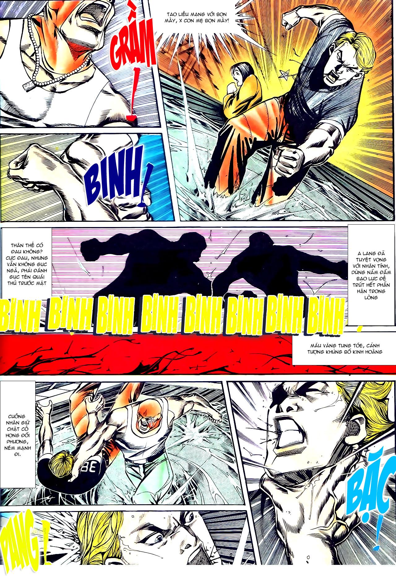 Người Trong Giang Hồ chapter 141: chính khí lẫm liệt trang 17