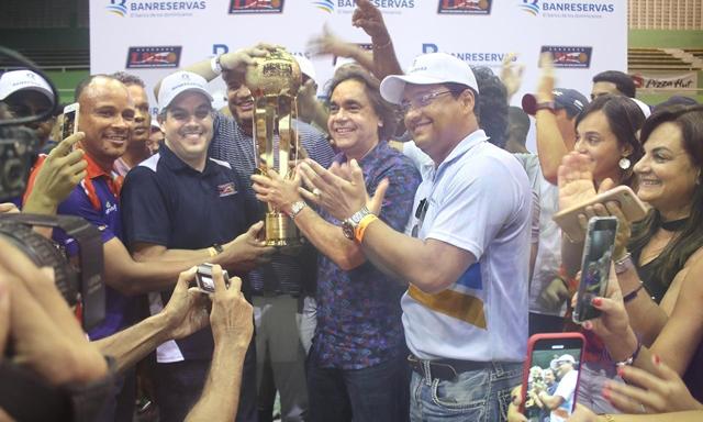 Reales de La Vega, campeones Liga Nacional de Baloncesto