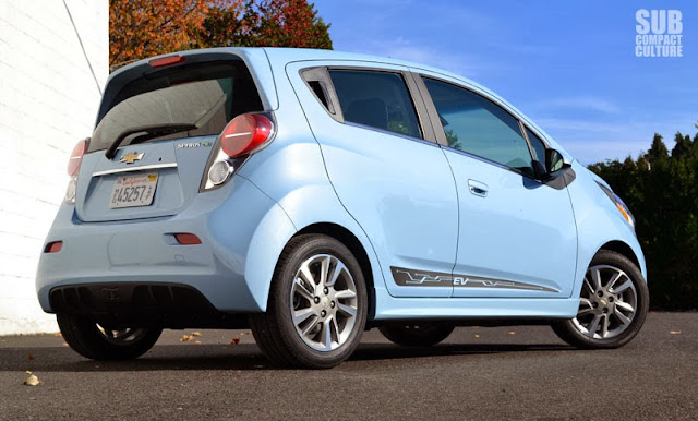Chevrolet Spark EV rear closer