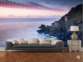 Poldark, Cornwall, Murals, Wallsauce, Botallack