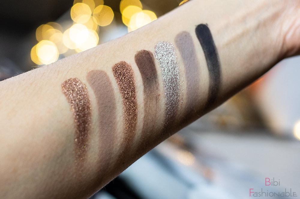 Anastasia Beverly Hills Sultry Eyeshadow Palette Swatches unten