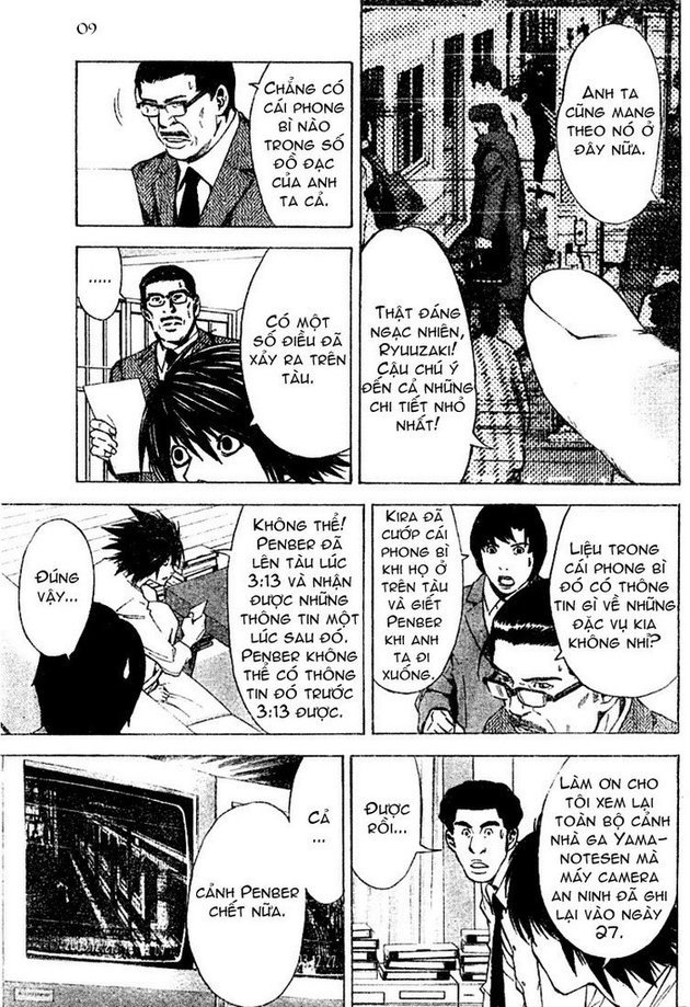 Death Note chapter 015 trang 9
