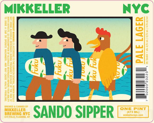 Mikkeller NYC & Fuku Collaborate On Sando Sipper
