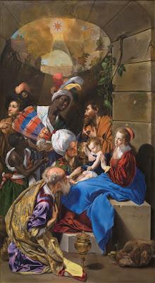 La Adoración de los Reyes Magos, Museo del Prado, Fray Juan Bautista Maíno