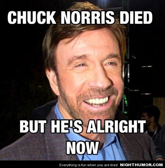 "Jenni with an ""i"": 8 Signs You Are Not the Chuck Norris of ..."