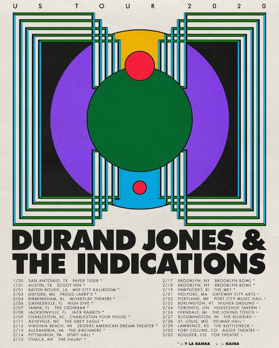 Durand Jones & The Indications @ The Horseshoe, Monday