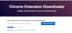Cara instal Extension Chrome Failed Network