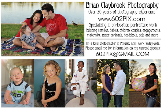 602PIX - Brian Claybrook Photography: ABOUT 602PIX - PRICING INFO