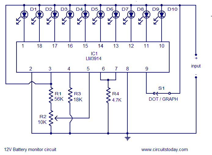 motorcycle 12v led wiring diagram 12v led circuit diagram