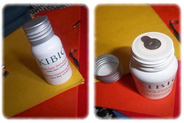 Lait de Soin Démaquillant - Kibio - My Little Box Juin 2012