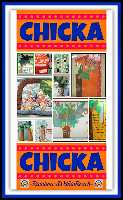 Chicka Chicka Boom Boom RoundUP of Ideas at RainbowWithinReach