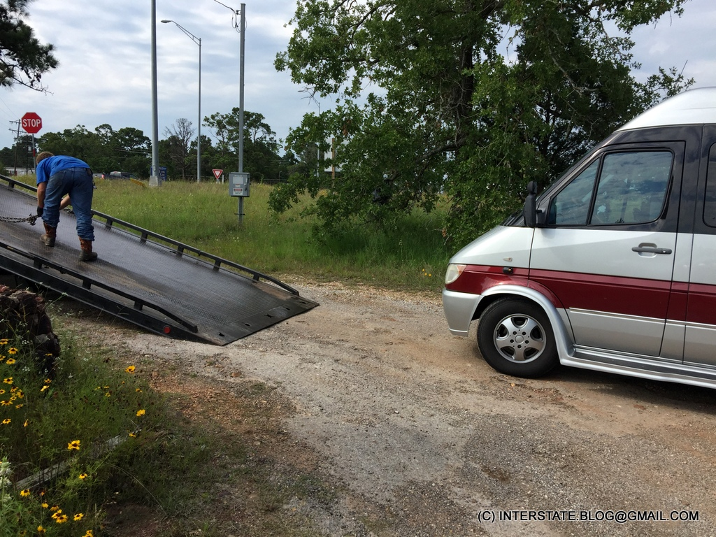 THE INTERSTATE BLOG: TOWING AN UPFIT T1N SPRINTER: YOU NEED TO KNOW