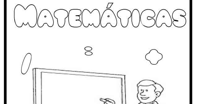 Portada Matemáticas