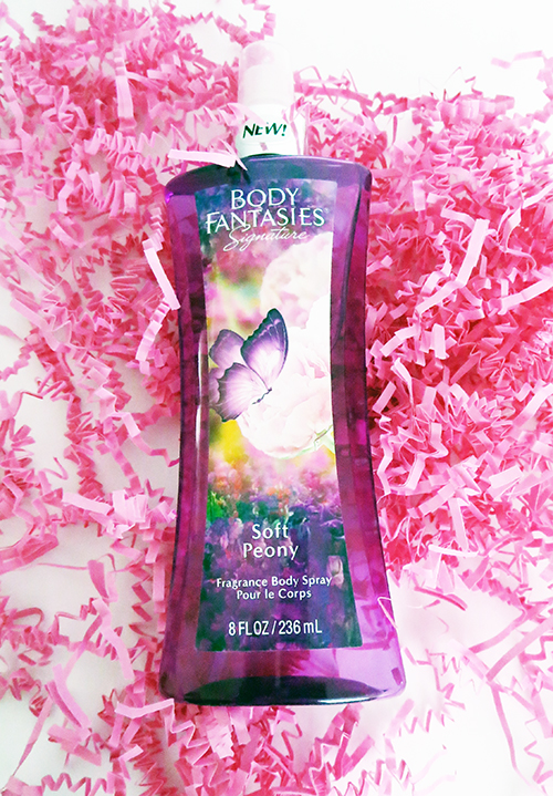 Body Fantasies Signature Soft Peony Fragrance Body Spray ~ #Review