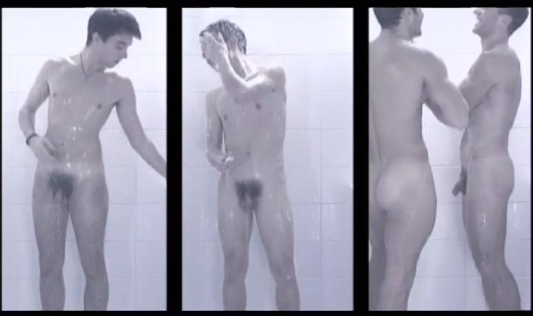 hairy guys cocks in shower