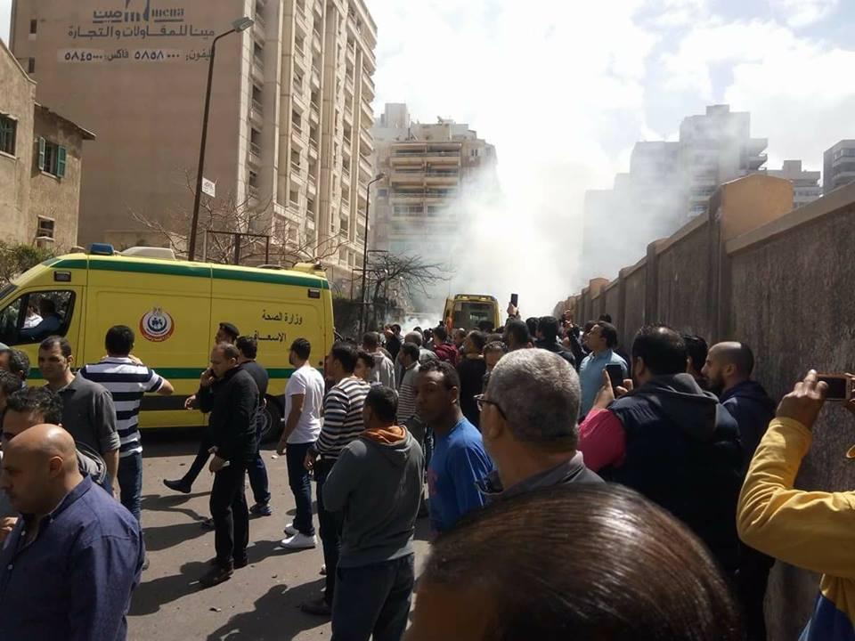 انفجار سيارة مفخخة بالأسكندرية