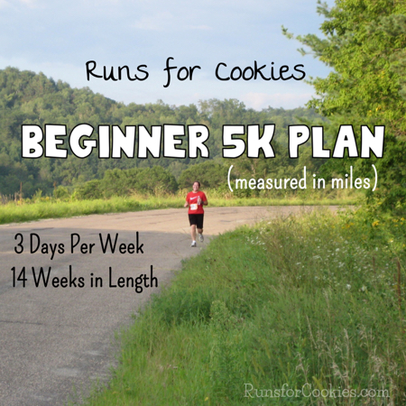 5K Training Plan 14 Weeks 3 Day per Week