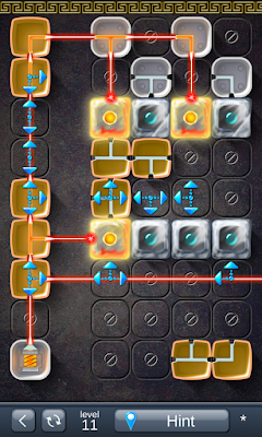 Solution for Laser Box - Puzzle (Royal) Level 11