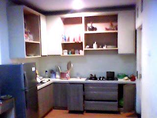 kitchen set - contoh hasil-hasil produksi setting desain interior dari workshop kami
