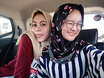 Safira Inema dan Juwita Aprilia Putri