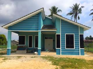 Rumah banglo bina atas tanah sendiri