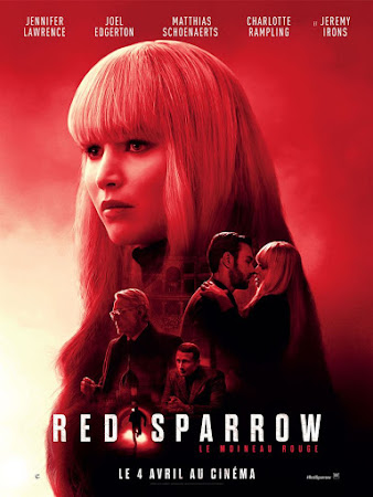 Poster Of Red Sparrow 2018 In Hindi Bluray 720P Free Download