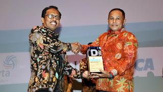 Mantab!! Lamsel Raih Penghargaan Indek Kelola Kinerja Dan Efektivitas Pengelolaan APBD Tahun 2018