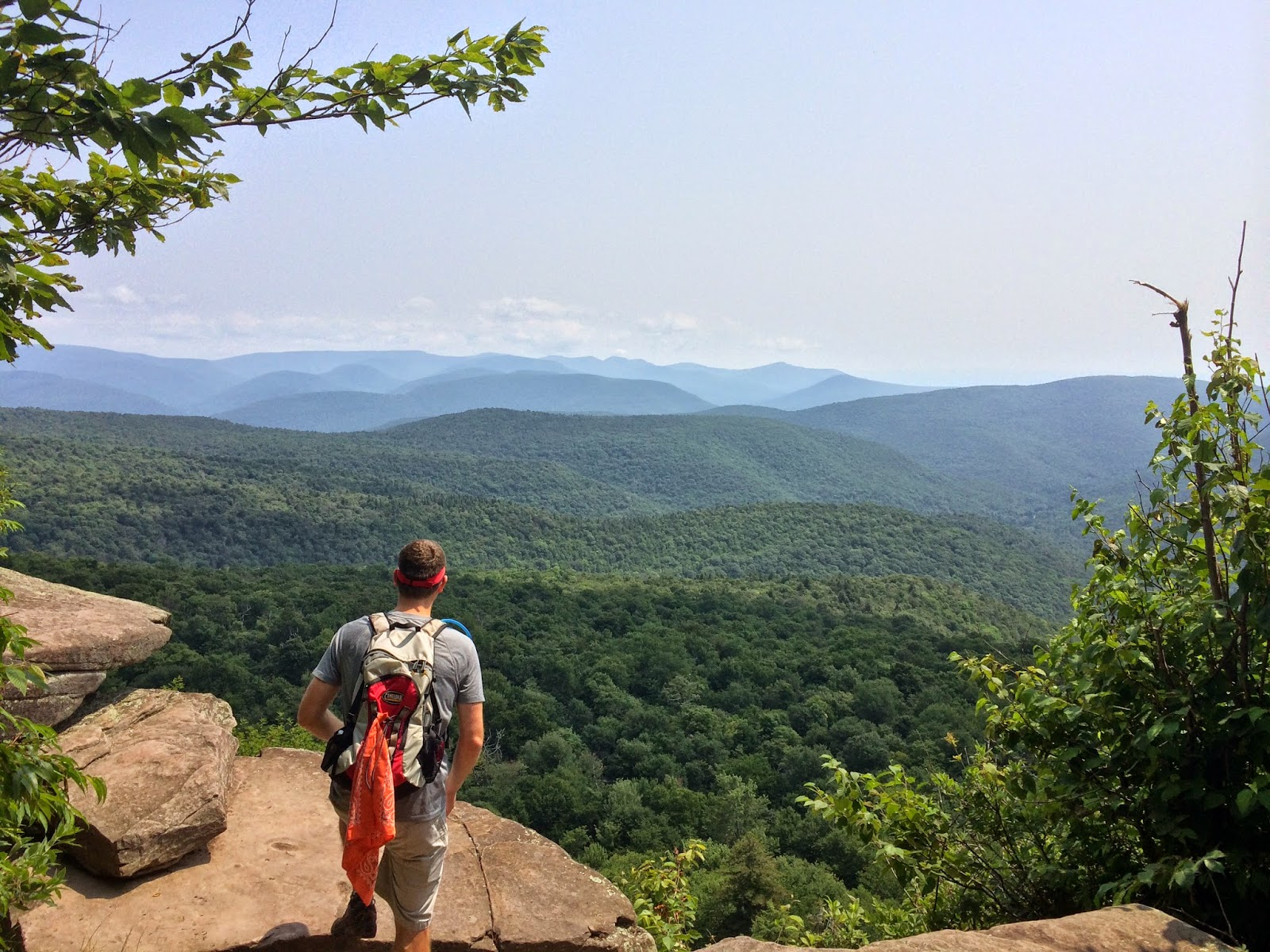 Hiking Giant Ledge And Panther Mountain Via The Fox Hollow Trail Catskill Mountains Ny 7 25 2017