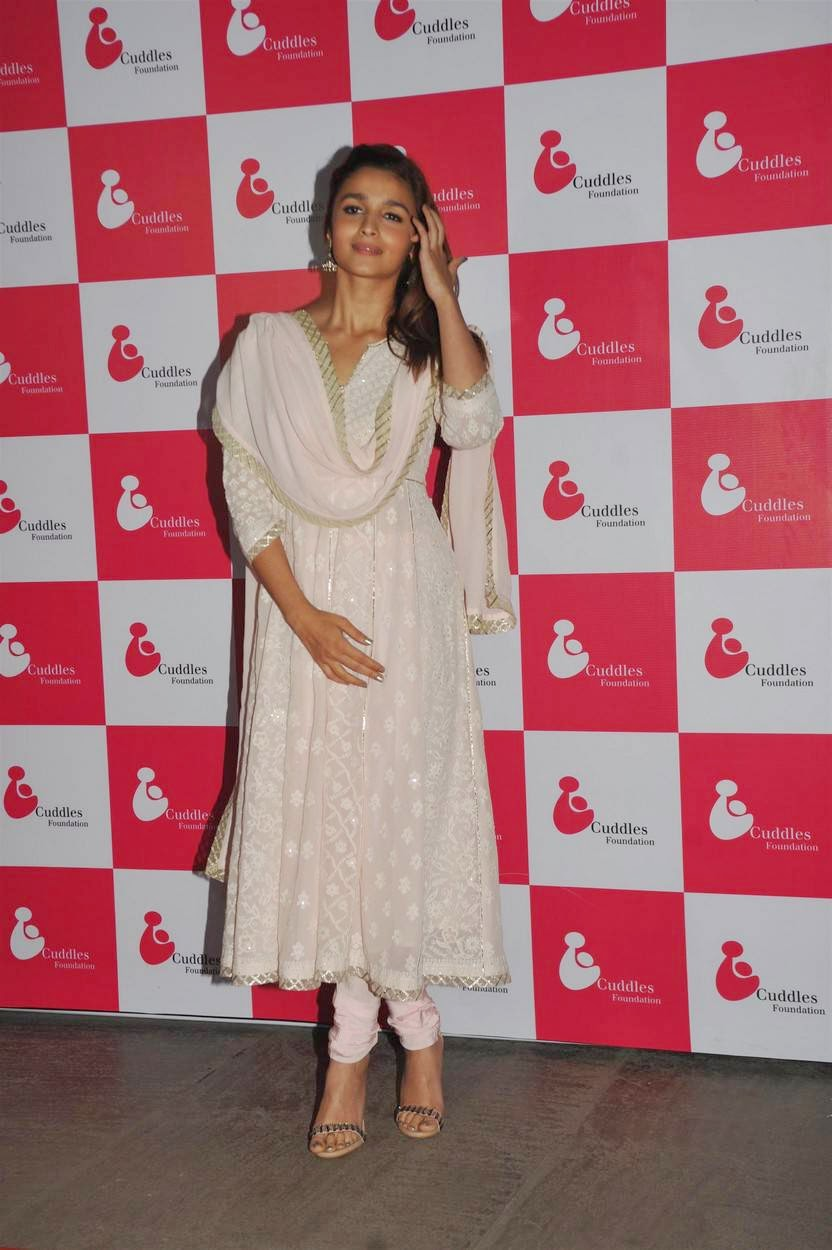 Actress Alia Bhatt Latest Cute Hot Spicy Photos Gallery At 3rd Annual Charity Fundraiser Art Exhibition