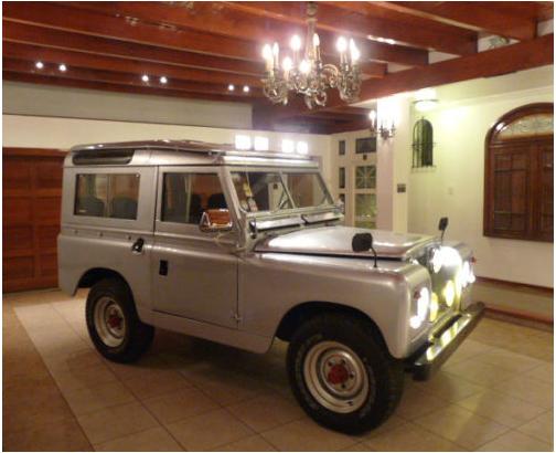 1961 land rover series ii 88 groosh 39 s garage. Black Bedroom Furniture Sets. Home Design Ideas
