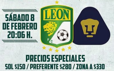 León vs Pumas en Vivo