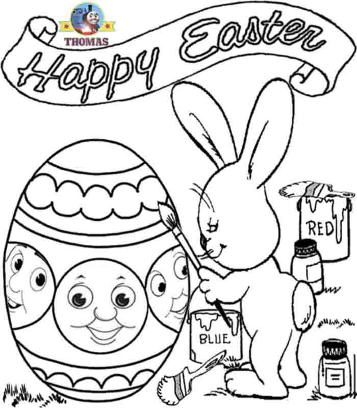 Letter B Is For Bunny Coloring Page