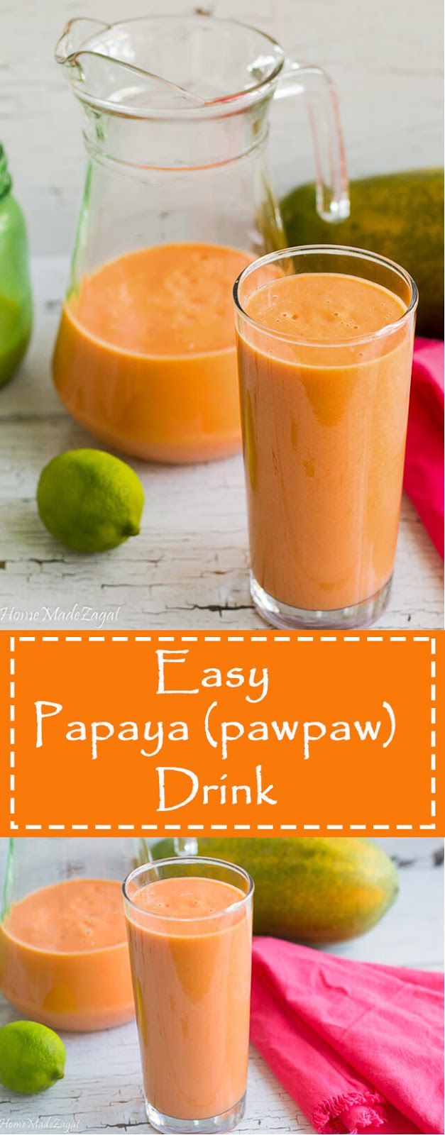 How to make Pawpaw Drink