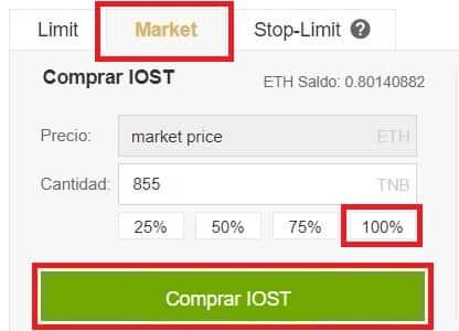 Comprar IOStoken (IOST) en Binance y Coinbase Coin