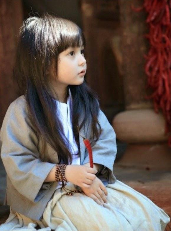 Foto gambar Liu Chu Tian gadis balita tercantik di dunia