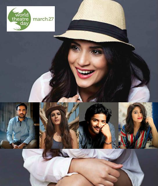 cinemawallah-World Theatre Day-Richa Chadha-Pankaj Tripathi-Isha Talwar-Ali Fazal-Shweta Tripathi-bollywood