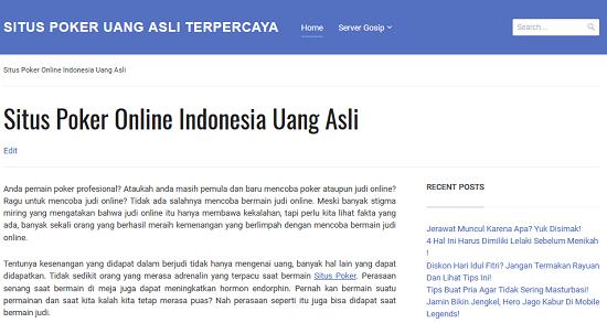 Situspokerjawa.org Situs Poker Online Indonesia Uang Asli