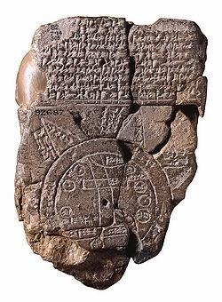 verdens eldste kart Globalhistorie: Kart og verdensbilder (del 1) verdens eldste kart