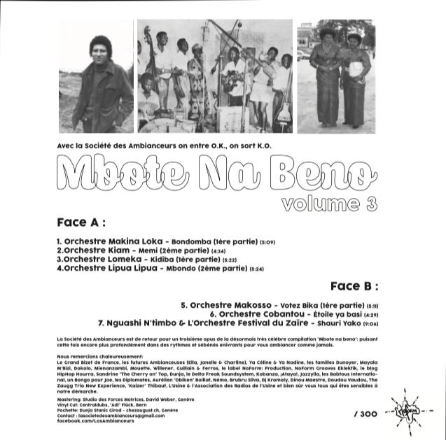 2cc04a01864f7c ... original de l artiste René Willener et la présentation du Maître et  Sorcier de la Rumba Congolaise Dino Vangu. Le disque sera bientôt  disponible chez ...