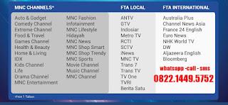 Indovision paket beli putus TOP TV Rantau Prapat