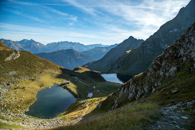 Seetalwanderung und Klettersteig Hochjoch  Silvretta Montafon 01