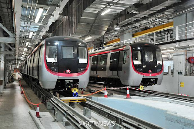 Hong Kong has opened a brand new metro line extending the MTR system to the south of the city.
