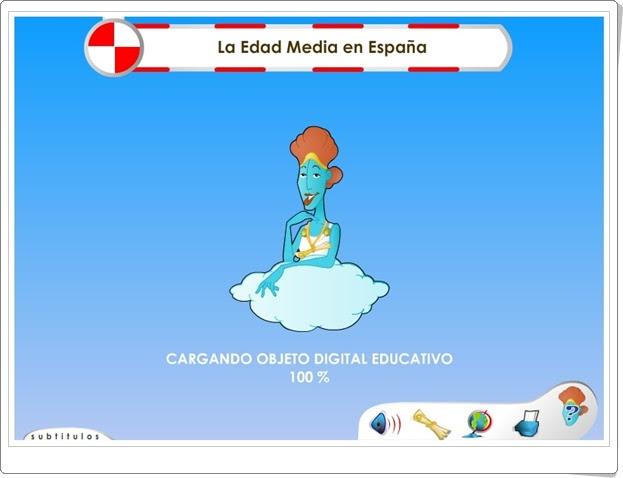 """""""La Edad Media en España"""" (Historia de Educación Primaria)"""