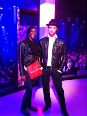 Justin Timberlake at Madam Tussauds wax museum - @arelaxedgal