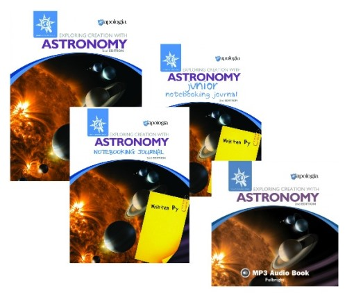 Apologia Exploring Creation With Astronomy resources