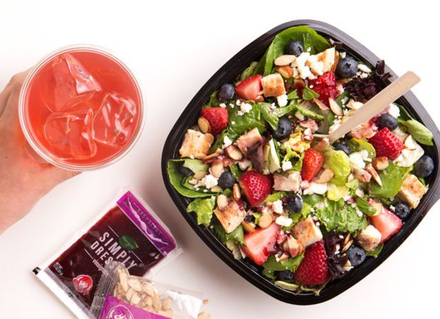wendy s debuts new berry burst chicken salad brand eating