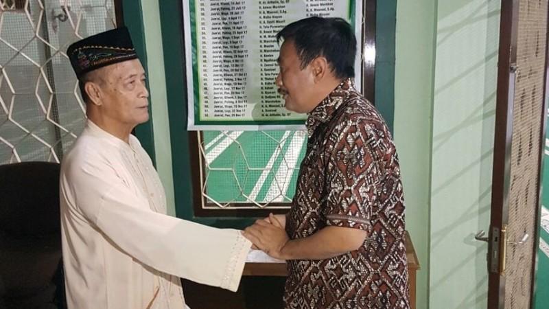 Djarot Saiful Hidayat menemui Buya Syafii Maarif