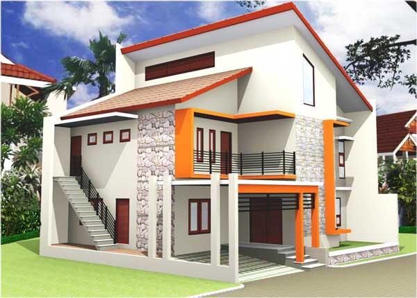 desain rumah minimalis 2 lantai tapi mewah