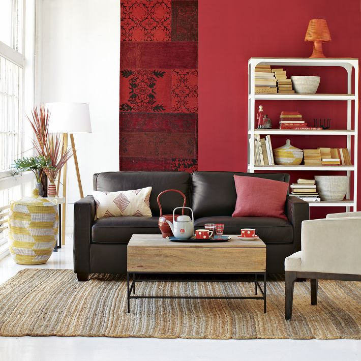 living room red walls best interior design house 16377